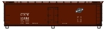 ACU4856 Accurail Inc HO 40' Wood Reefer CNW 112-4856