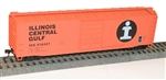 Accurail 5505 HO 50' Steel Boxcar IC 112-5505 ACU5505