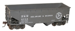 Accurail 7726 HO 50-Ton Offset Side Twin Hopper D&H 112-7726 ACU7726