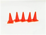 All Scale Miniatures 870661 HO Traffic Cones 5/