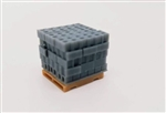 All Scale Miniatures 870919 HO Cinder Blocks Stack 5/