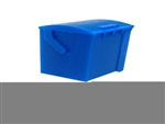 All Scale Miniatures 1601649 N Dumpster Square Rear Load w/Casters