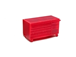 All Scale Miniatures 871898 HO Tool Chest Short Rolling
