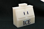 All Scale Miniatures 1601899 N Ice Chest Double Door