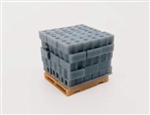 All Scale Miniatures 1601919 N Cinder Blocks Stack