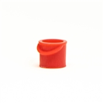 All Scale Miniatures 870890 HO Bucket Fire Red 5/