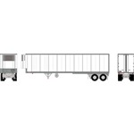 Athearn 16083 HO 40' Fruehauf Z-VanTrailer/Smooth Unlettered