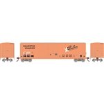 Athearn 17270 N 50' FMC Offset Double Door Box Burlington Northern/EStL #223602