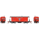 Athearn 24323 N Bay Window Caboose Erie #C309