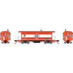 Athearn 24335 N Bay Window Caboose Frisco #1728