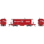 Athearn 24338 N Bay Window Caboose RJ Corman #1973