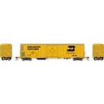 Athearn N FGE 57' Mechanical Reefer BNFE/Yellow #9277