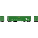 Athearn N FGE 57' Mechanical Reefer w/Sound BNFE/Green #11783