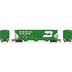 Athearn 25430 N PS 4427 Covered Hopper Burlington Northern BN #445164