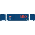 Athearn 67463 HO 40' Modernized Box Minneapolis Northfield & Southern MNS #1022