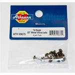 "ATH90675 Athearn Inc N 33"" Metal Wheel Set (8)"