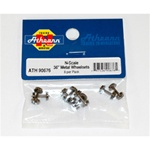 "ATH90676 Athearn Inc N 36"" Metal Wheel Set (8)"