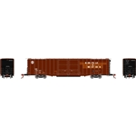 Athearn 6709 N 60' PS Auto Box Norfolk & Western N&W #600410