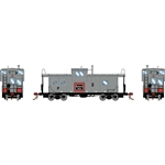 Athearn G78365 HO ICC Caboose w/ Lights & Sound Burlington Northern BN #10113