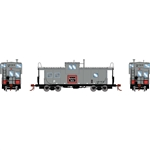 Athearn G78366 HO ICC Caboose w/ Lights & Sound Burlington Northern BN #10123