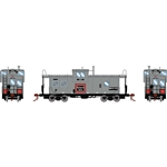 Athearn G78367 HO ICC Caboose w/ Lights & Sound Burlington Northern BN #10136