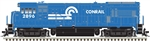 Atlas 10003796 HO GE U33B LokSound and DCC Master Gold Conrail 2896