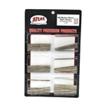 Atlas 170 HO Universal Rail Joiners pkg 48 Nickel-Silver for Code 100 or Code 83 Rail