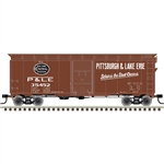 Atlas 20006249 HO 1937 AAR 40' Boxcar Kit Pittsburgh and Lake Erie 35305
