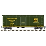 Atlas 20006261 HO 1937 AAR 40' Boxcar Kit Western Pacific 220084