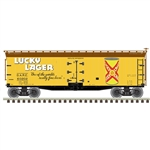 Atlas 3001570 O 40' Wood Reefer 3Rl Lucky Lager