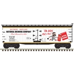 Atlas 3001571 O 40' Wood Reefer 3Rl National Bohemian