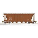 Atlas 20006357 HO Slab-Side Covered Hopper Master Canadian National 113193 12 Hatch As-Delivered