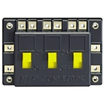 Atlas 205 Electrical Connector 3 SPST On/Off Switches in Parellel