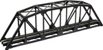 Atlas 2070 N Through Truss Bridge Kit w/Code 55 Rail Black