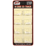 Atlas 2091 N Code 55 Track Accessories Insulated Rail Joiners Pkg 24