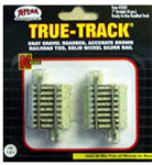 "ATL2405 Atlas Model Railroad Co. N 1"" Straight Track 4/ 150-2405"