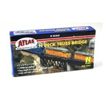 ATL2547 Atlas Model Railroad Co. N Bridge Deck Truss Cd 80 150-2547