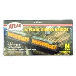 ATL2548 Atlas Model Railroad Co. N Bridge Plate Girder UNDEC 150-2548