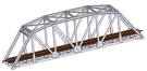 ATL2571 Atlas Model Railroad Co. N Code 80 Truss Bridge slvr 150-2571