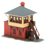 ATL2840 Atlas Model Railroad Co. N Signal Tower Kit 150-2840