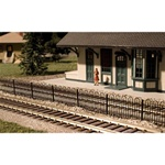ATL2850 Atlas Model Railroad Co. N Hairpin Style Fence 150-2850