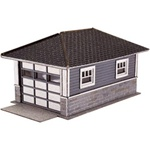 ATL2860 Atlas Model Railroad Co. N Barb's Bnglw Garage Kt 2/ 150-2860