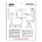 Atlas 361 HO Track Planning Template Set