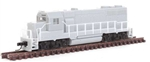 Atlas 40003136 N EMD GP35 Phase 1B Standard DC Master Silver Undecorated No Dynamic Brakes