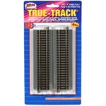 "Atlas 451 HO True-Track Code 83 Track & Roadbed System Straight Section 6"" pkg 4"