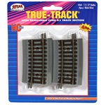 "Atlas 464 HO True-Track Code 83 Track & Roadbed System 43833 22"" Radius Curve Section pkg 4"