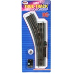 Atlas 480 HO True-Track Code 83 Track & Roadbed System Remote Snap-Switch Left Hand