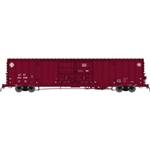 Atlas 50004057 N Santa Fe Class BX-166 62' Beer Boxcar Santa Fe 621498 Late Q Logo Version 1