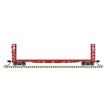 Atlas 50005792 N GSI-GSC 48' Bulkhead Flatcar Master Chicago Burlington & Quincy 95205