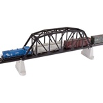 "Atlas 593 HO 18"" Through-Truss Bridge Kit Code 83 Track 150-593"